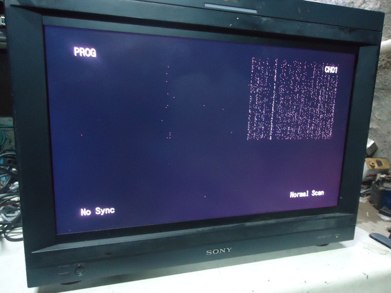 Monitor Profissional Trimaster Lcd Sony Bvm-l231 (defeito)