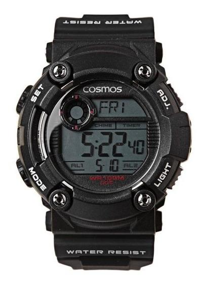 Relógio Masculino Cosmo Original C/ Nota Fiscal Sk55