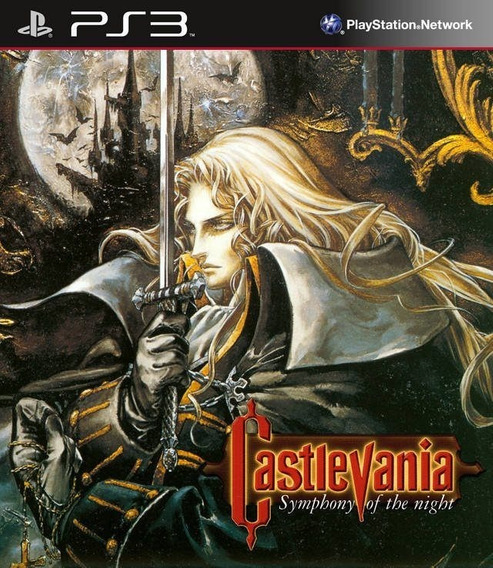 Castlevania Symphony Of The Night - Jogos Ps3 Playstation 3