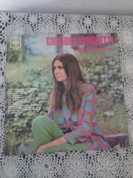 Rosa D Amore Gigliola Cinquetti (disco De Vinilo)