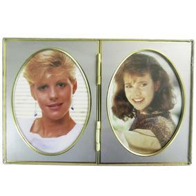 Porta-retrato Duplo Tamanho 9 X 13 Cm - Lavie 704-052005