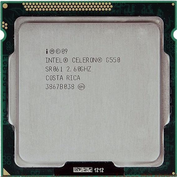 Processador Intel Celeron Cpu G550 @ 2.60 Ghz Usado