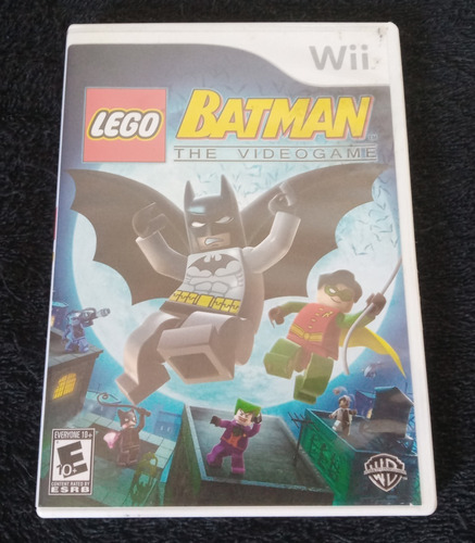 Lego Batman The Videogame - 100% Original Nintendo Wii