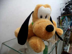 Pluto Original Disney Pelucia Antigo Lindo Deitado