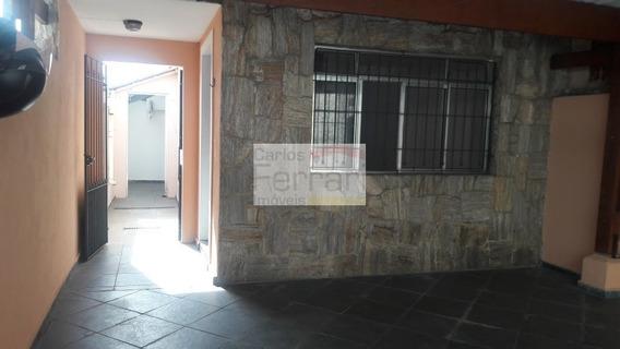 Sobrado Com 2 Dormitórios 2 Vagas Entrada Lateral. Próximo A Avenida Maria Amália Lopes De Azevedo. - Cf22927