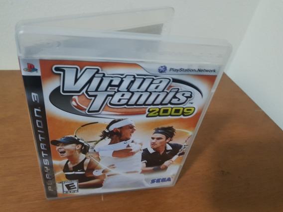 Virtua Tennis 2009 Usado Original Ps3 Midia Física
