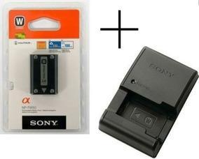 Baterias Sony Np-fw50 Original + Carregador Bc-vw1