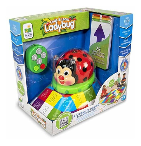 Imagen 1 de 4 de The Learning Journey Code And Learn! Ladybug