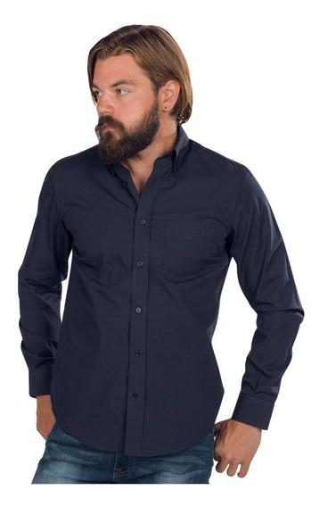 Camisas Hombre Casual Vestir Moda Formal Algodon Lisa