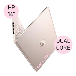 Notebook Hp Pentium 2.3gh 256 Ssd 8gb Ddr4 Rosa Touch Cuota