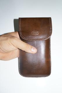 Porta Celular Em Couro Smartphone Local Para Cinto