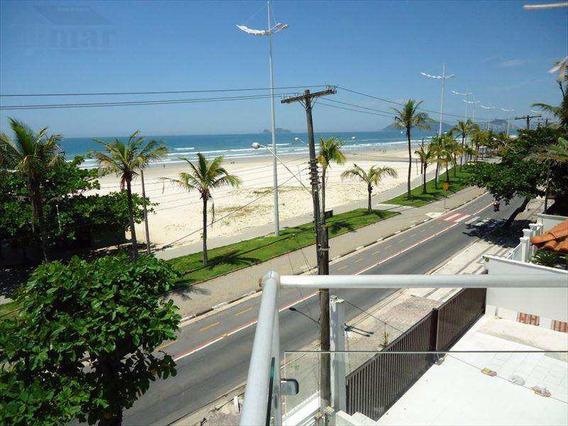 Casa Com 4 Dorms, Frente Ao Mar, Guarujá - R$ 1.3 Mi, Cod: 3656 - V3656