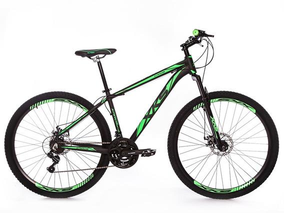 Bicicleta Xks Aro 29 Alumínio Freio A Disco 21v Kit Shimano