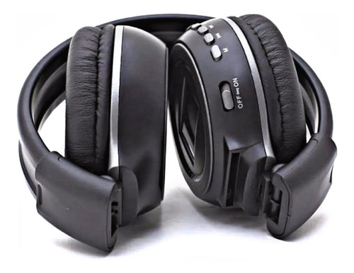 Audífonos Diadema Bluetooth N65 Micrófono Luces Radio Micro