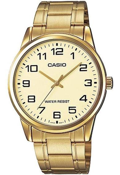 Relógio Casio Collection Analógico Unissex Mtp-v001g-9budf
