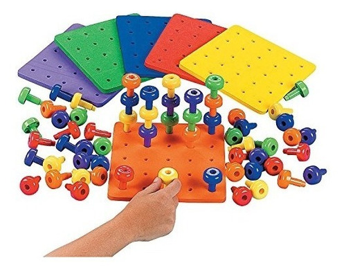 Apilarlo Peg Game With Board Terapia Ocupacional Autismo Fin