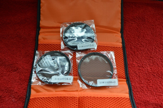 Kit De Filtro Nd2 + Nd4 + Nd8 + Case 67mm Canon Nikon Sony