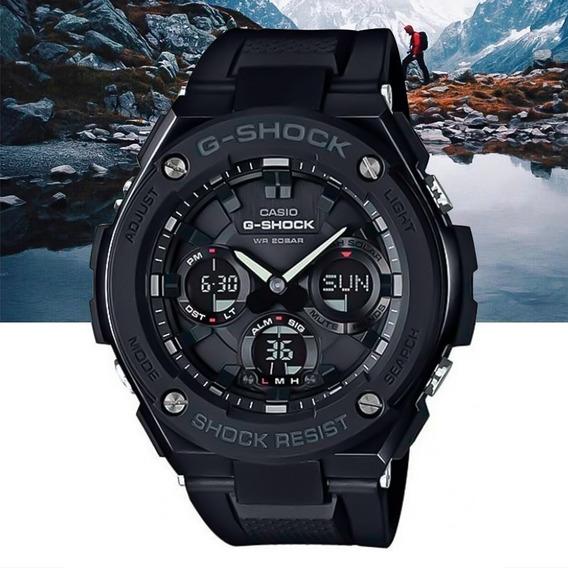 Relógio Casio G-shock G-steel Gst-s100g-1bdr Preto