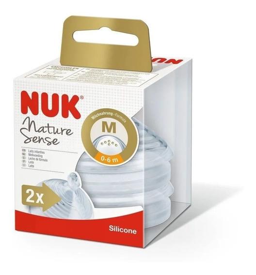 Tetina Nuk Nature Sense 0-6 Meses M X 2 Un By Creciendo