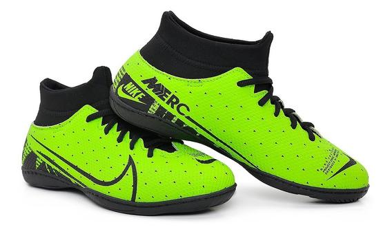 Chuteira Botinha Futsal Mercurial Lançamento 2020 Costurada