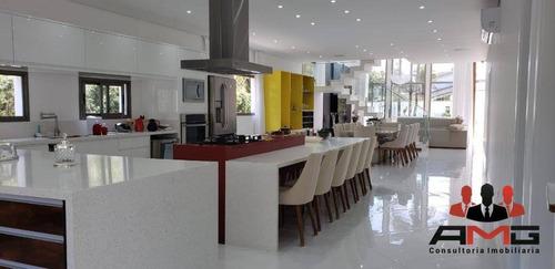Casa Com 6 Dormitórios À Venda, 338 M² Por R$ 8.980.000,00 - Riviera - Módulo 5 - Bertioga/sp - Ca0452