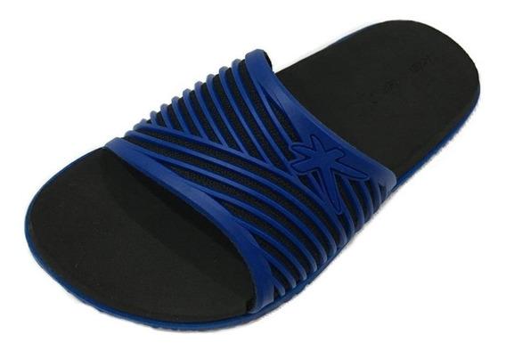 Sandália Kenner Slide Hdv-02 - Azul - Original