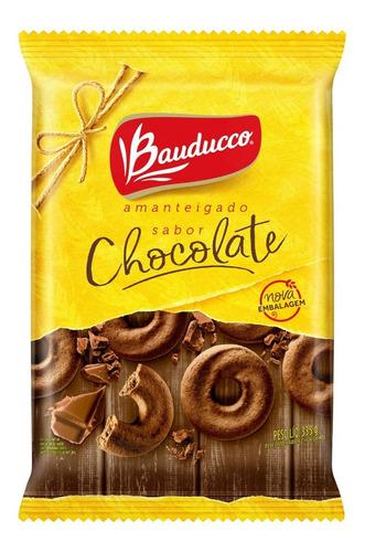 Biscoito Amanteigado De Chocolate Bauducco 335g