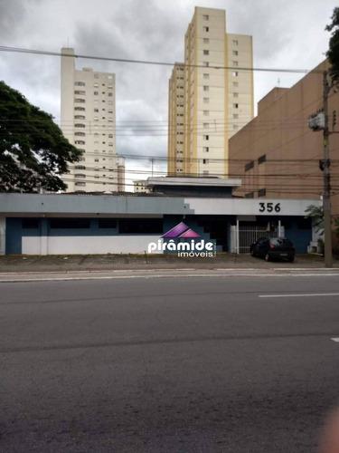 Prédio Com At  De 1584 M² Vila Adyana - São José Dos Campos/sp - Pr0054