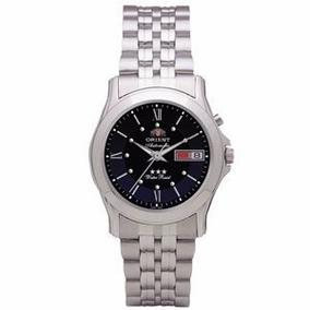 Relógio Masculino Orient Automático 3 Estrelas 469ss002 D3sx