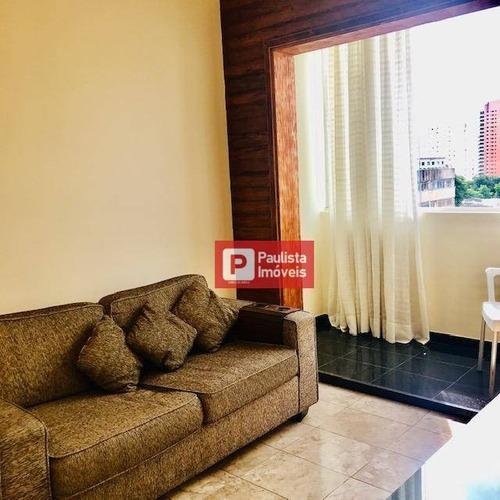 Apartamento Para Alugar, 55 M² Por R$ 2.000,00/mês - Chácara Santo Antônio - São Paulo/sp - Ap30273