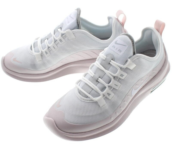 Tenis Nike Air Max Axis Blanco Rosa Plata 23.5-25.5 Original