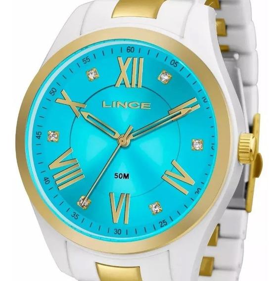 Relógio Lince Feminino Lrt4474p A3bk C/ Garantia E Nf