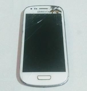 Samsung S3 Mini Modelo Gt- I8190lbranco-retirar Peças-