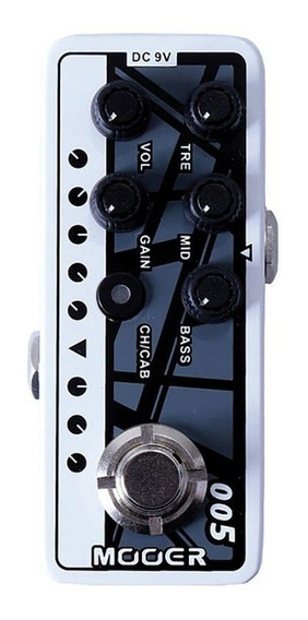 Pedal Mooer Pre Amplificador M005 Brown Sound 3 + Nf