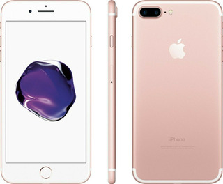 iPhone 7 Plus 128 Gb- Original Vitrine Nota Fiscal + Brind