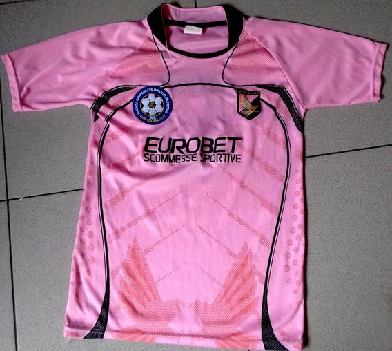 Remera Deportiva Rosa Eurobet T12/14 Caba