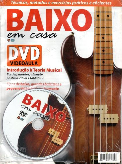 Dvd Videoaula - Curso - Baixo Em Casa