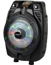 Bocina Coby 6 Pulgs. Con Microfono, Control, Bluetooth, Negr