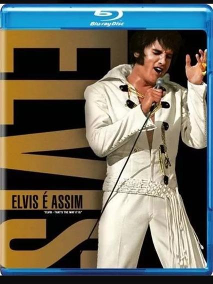 Elvis É Assim Bluray Lacrado