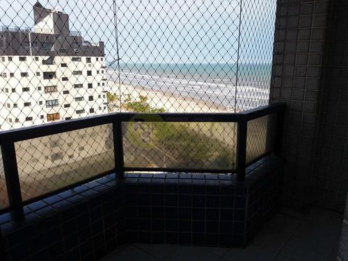 Imagem 1 de 12 de Apartamento 2 Dorm Com Vista Do Mar - A Venda Jardim Real- Pg - V2800