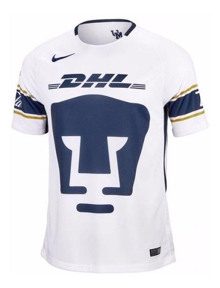 Jersey Playera Nike De Pumas De Unam Blanca Original