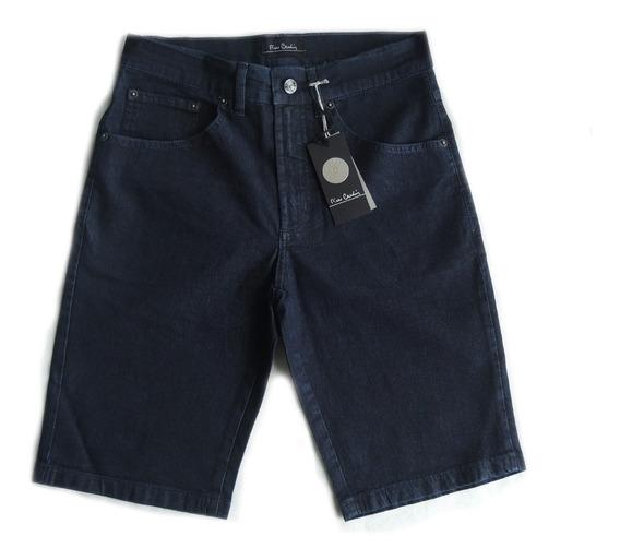 Bermuda Pierre Cardin Original Jeans Masculina 059