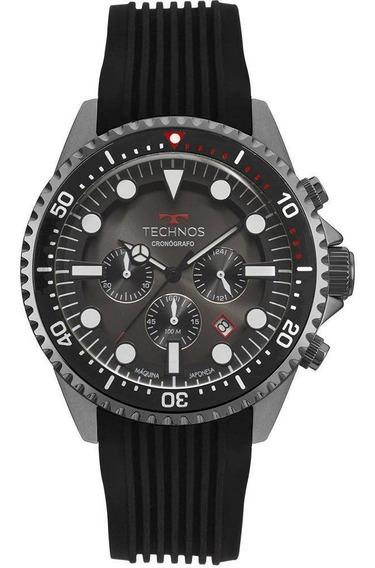 Relógio Technos Skymaster Mascuino Grafite Js25cc/8p