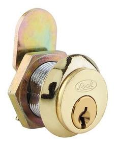 Cerradura P/mueble L050 Paleta Latón Brillante L050plbb Lock