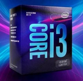 Processador Intel Core I3-8100 3.60ghz (8ª Geração)