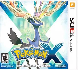 Pokemon X 3ds (nuevo Y Sellado De Fabrica)