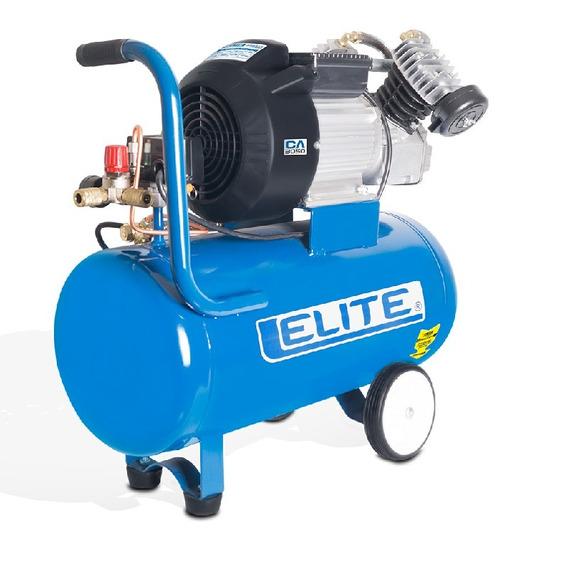 Compresor Elite- 3hp 2 Piston 50lts 8.4 Ca3050