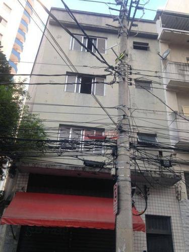 Kitnet Com 1 Dormitório Para Alugar, 25 M² Por R$ 900/mês - Liberdade - São Paulo/sp - Kn0179