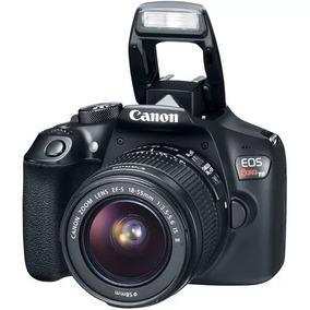 Câmera Canon Rebel T6 C/ Lente 18-55mm Nova