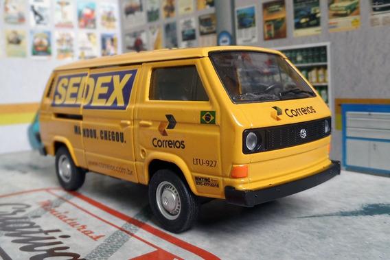 Miniatura Kombi T3 Correios Sedex 1/40